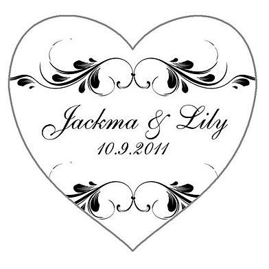 Free Shipping Personalized Treasury Heart Shaped Wedding Favor