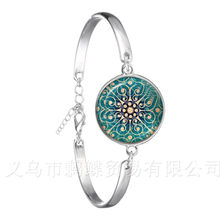 Metatron Cute Bracelet Chakra Cosmic Energy Centres Charm Women Jewelry Beautiful Mandala Lotus Hinduism Chain Bangle Gift(China)