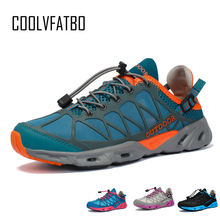 COOLVFATBO Summer Man Sneaker Male Fashion Casual Air Mesh Sports Track Shoes for Men Non-slip Outdoor Light Breathable Loafers