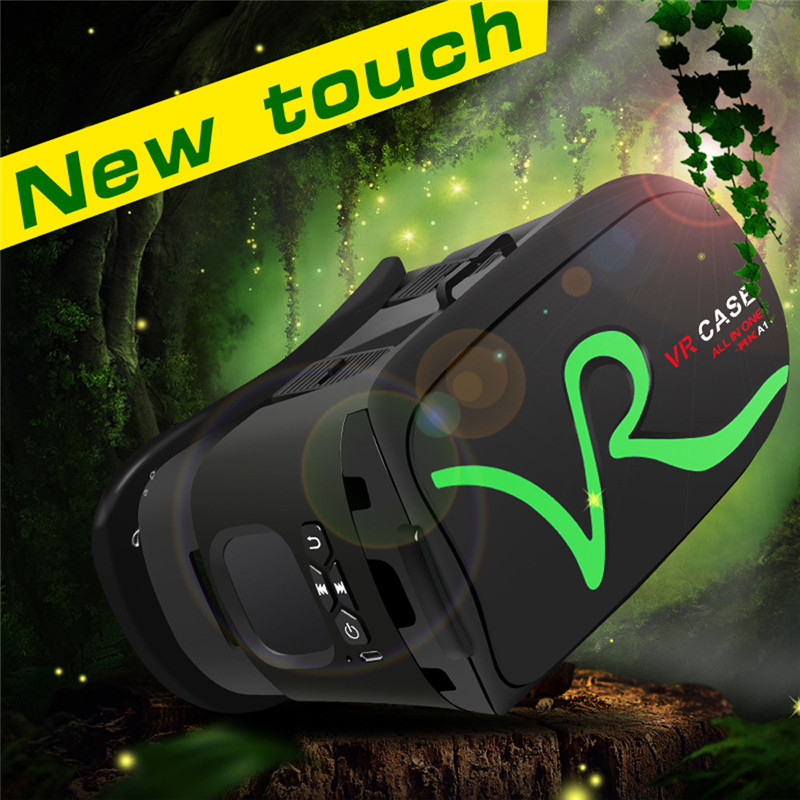 """3D VR Headset Virtual Reality Glasses VR Case All In One For 4.0""""-5.8"""" iPhone Samsung Moto LG Nexus HTC Wholesale 22"""