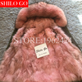 2016 New Women Winter Army Green&Black Jacket Coats Thick Parkas Plus Size Real fox Raccoon Collar Hooded Outwear &Pink Fur coat