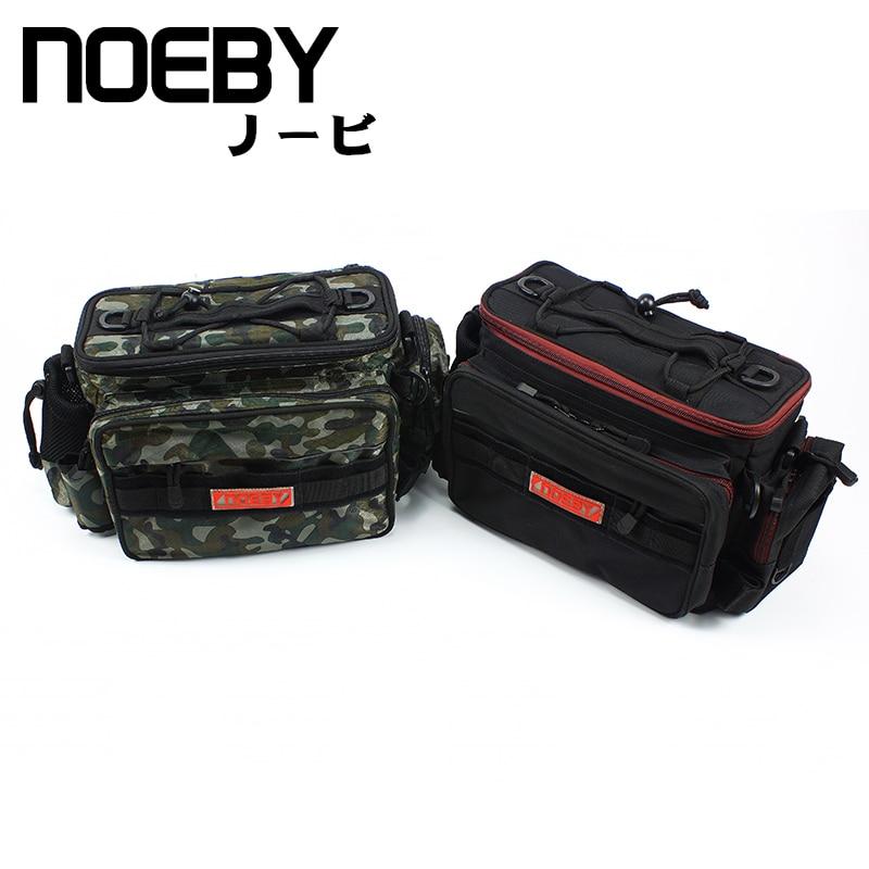 NOEBY High Quality Fishing Bags Waterproof Multi purpose FishTackle Backpack Waist Bag Bolsa Pesca De Peche
