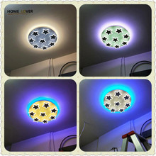 hot deal buy ceiling lights for kids room kitchen living room fixtures luminaria de teto start ac85-265v ceiling light kids room decoration