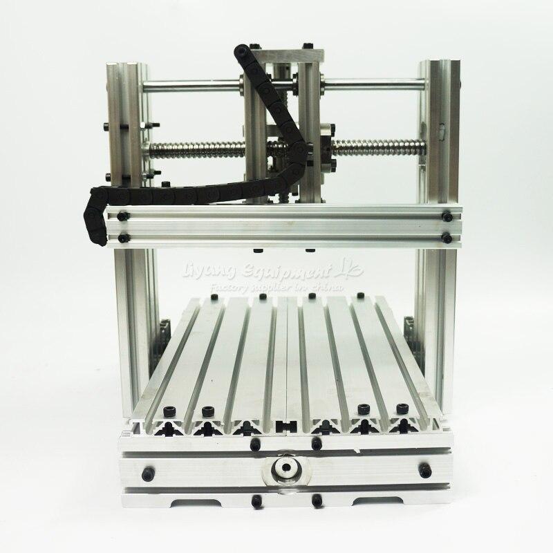 No tax line to EU,samll cnc frame 2520 CNC machine kit,working area 25*20cm ru eu no tax automatic lt 60 plane self adhesive label machine