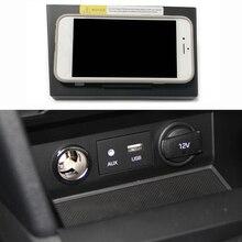 15W Auto Draadloze Oplader Voor Hyundai Elantra 2017 2018 Snelle Qi Telefoon Oplader Opladen Case Opladen Telefoon Houder Accessoires