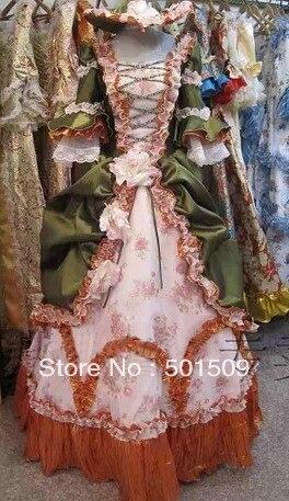 Antoinette Boule Belle Civile Victorien Costume Renaissance Guerre Reine Médiévale Robe Colonial Marie A7afq