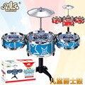 Crianças instrumento musical grande simulação de jazz rack de tambor tambor de fabricantes de bater musical