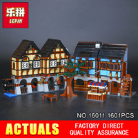 Lepin16011 New 1601Pcs Medieval Market Village Building Blcoks Bricks Toys 10193
