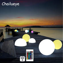 Waterproof Remote Control LED Bright Garden Ball Lights Outdoor Lawn Lamp Christmas Holiday Garden Decoration Lighting все цены
