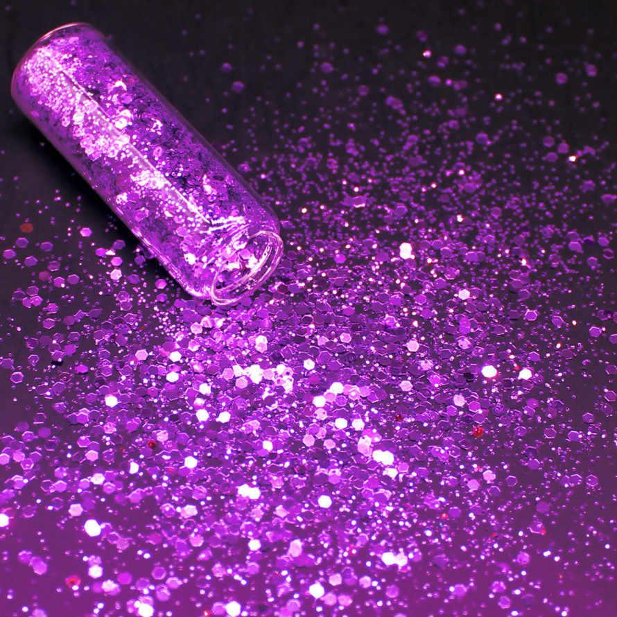 1 Pc Roze Holografische Pailletten Glitter Shimmer Diamond 24 Kleuren Eye Shiny Skin Markeerstift Gezicht Lichaam Glitter Festival Make BT7