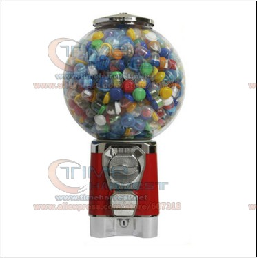 Good Quality Coin Operated Tabletop Gumball Vending Machine Desktop Capsule Vending Cabinet Toy Penny in the slot Coin Vendor