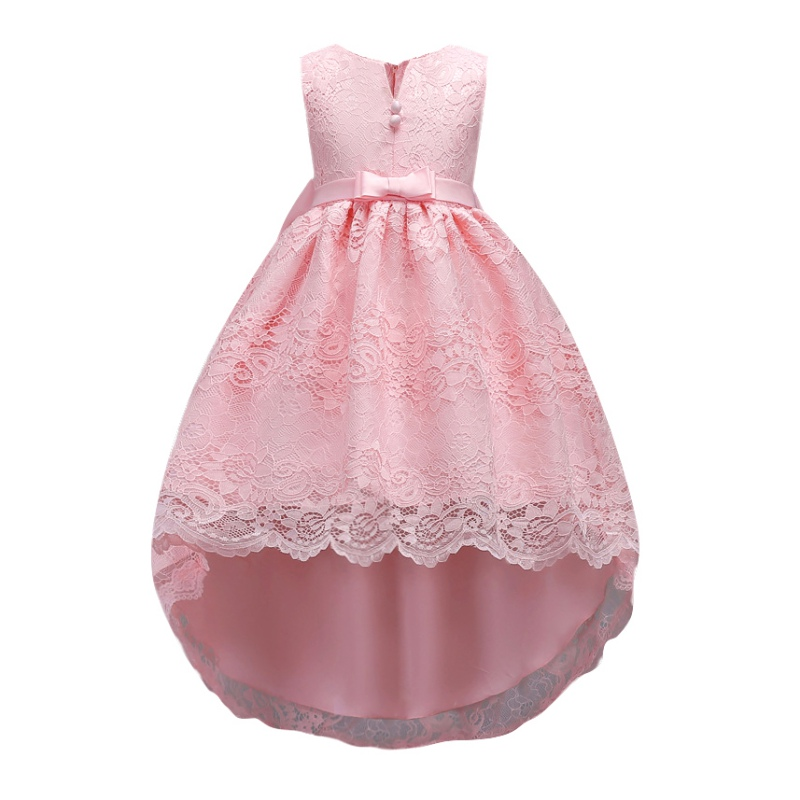 Wedding Dress Flower Lace Kids Girl Princess Dress Elegant Party Formal Vestidos