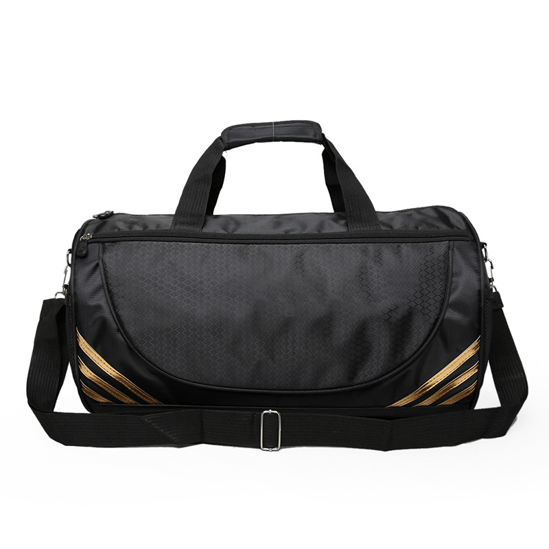 Gold Silver Black Training Sports Bag Swimming Fitness Bag Duffel Drum Shoulder Bags