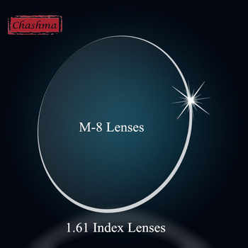 Chashma Myopia and Reading 1.61 Index M 8 Clear Lens Eyes Optical Glasses Custom Make Prescription Lenses - DISCOUNT ITEM  16 OFF Apparel Accessories
