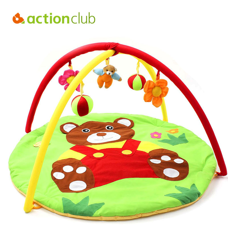 actionclub bear baby toy baby play mat 0 1 year game. Black Bedroom Furniture Sets. Home Design Ideas
