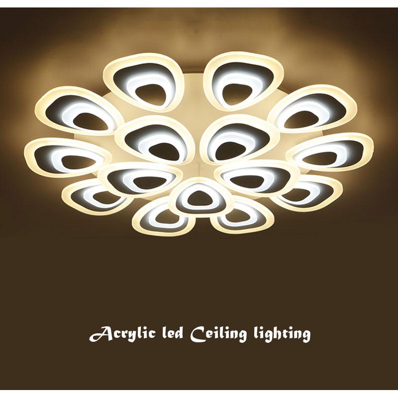 BLUE TIME Modern led ceiling light for living room bedroom White Simple Plafon led ceiling lamp home lighting fixtures AC85-260V aisilan modern led track spotlights cob ceiling lamps 360 180 angle adjustable ac85 260v 5 7w lighting fixtures living room shop