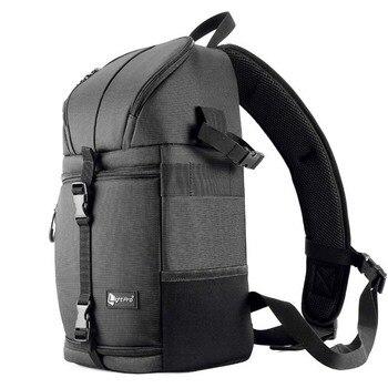 Photo Camera Sling Bag Shoulder Cross Digital Case Waterproof w/ Rain Cover DSLR Soft Men Women Bag for Canon Nikon Sony SLR