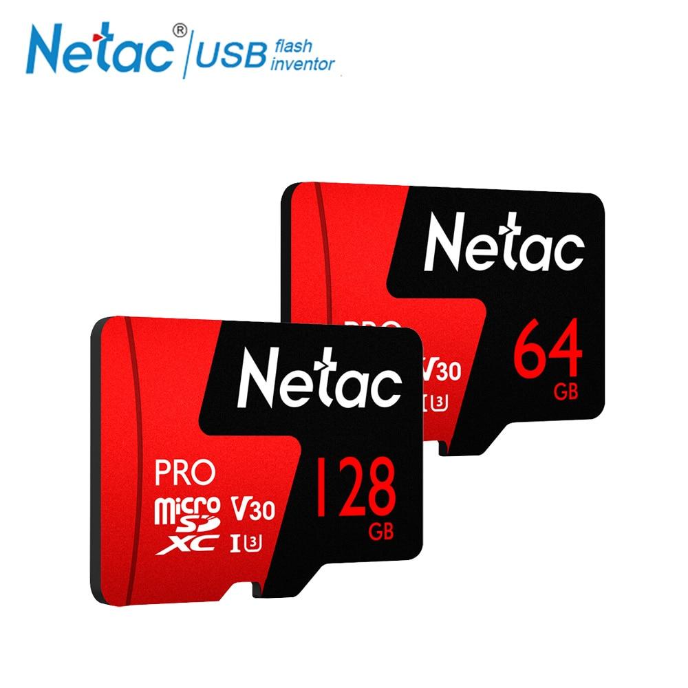 Natac P500 64GB Micro Card Class 10 USH-I SDXC TF 128GB Flash Memory Card Data Storage Micro SD Card 100MB/s For Samrtphone PC