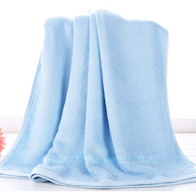 Baño del bebé niños de fibra de bambú del bebé / bebé del color sólido toalla / Kids bath robe / infant toallas de playa / los 90 * 90 cm