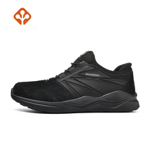SALAMAN Men Outdoor Sports Hiking Shoes Leather Anti-skid Shock Absorption Breathable Comfortable Camping Outdoor Sports Sneaker camel outdoor men s hiking shoes hiking shoes anti skid shock absorption sweat wear low to help outdoor shoes a632026165