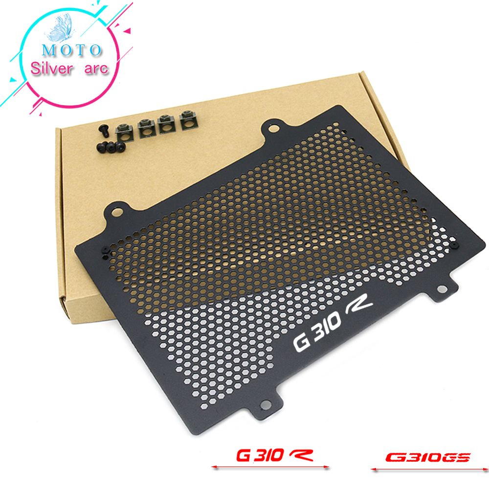 FOR BMW G310 G310GS G310R G310 R G310 GS 2018 2019  motorcycle radiator protective cover Guards Radiator Grille Cover ProtecterFOR BMW G310 G310GS G310R G310 R G310 GS 2018 2019  motorcycle radiator protective cover Guards Radiator Grille Cover Protecter
