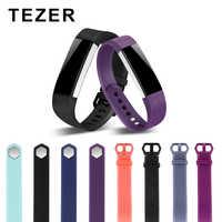 Para Fit bit alta banda de silicona colorida de reemplazo de correa portátil pulsera hombre y mujer Original pulsera inteligente