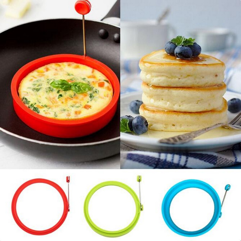 Shaper-Eggs-Mould Frying-Pan Oven Pancake-Ring Fried-Egg Cooking Kitchen Omelette Round