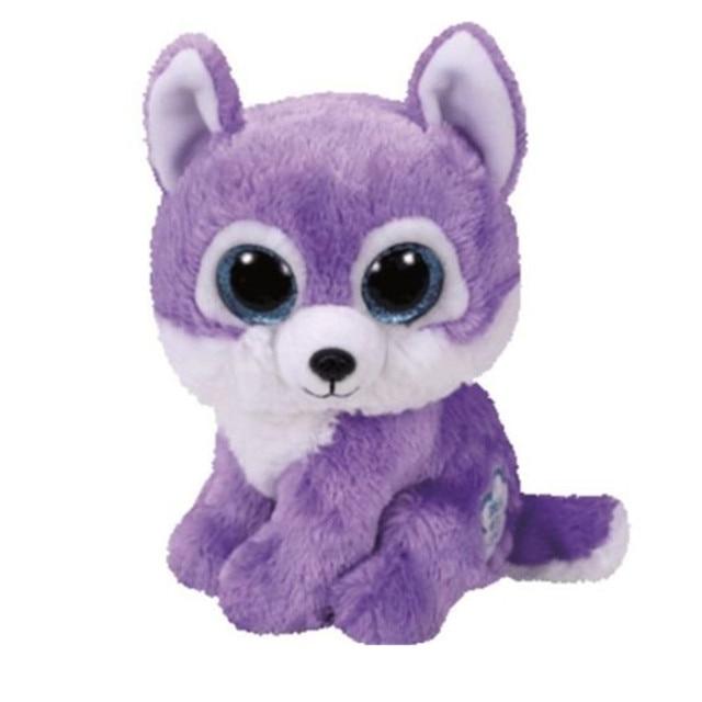 Ty Beanie Boos 6 15cm Purple Wolf Rabbit Unicorn Purple Spider Boo