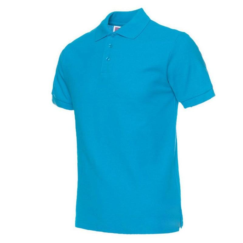 Moške polo majice, moške polne barve, polo majice Camisa Masculina, - Moška oblačila - Fotografija 5