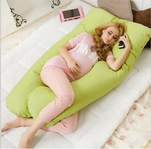 Hot sell pregnancy Comfortable U type pillows Body pillow For Pregnant Women Best For Side Sleepers Removable drop shipping