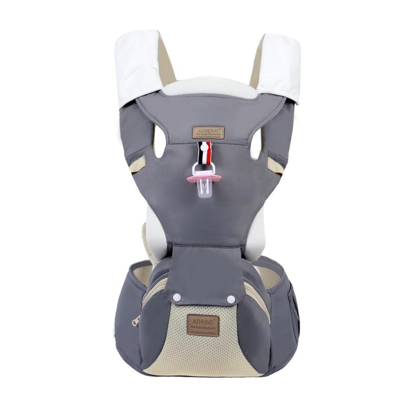 Sac à dos bébé nouveau-né porte-bébé infantile Hipseat multifonction Wrap Sling ceinture sûre taille réglable tabouret 0-36 mois