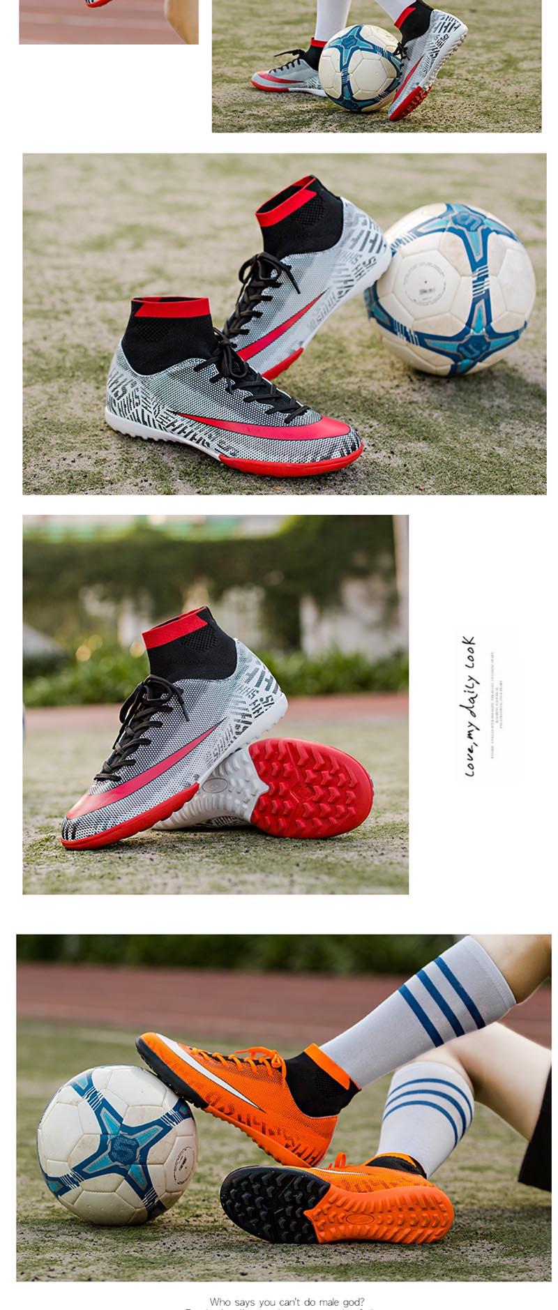 botas de futebol alta profissional superfly futebol