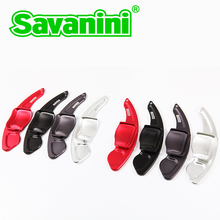 Savaini Aluminum Steering Wheel Shift Paddle Shifter Extension For Vw Golf 6 GTI cc tiguan sagitar! you can disign logo