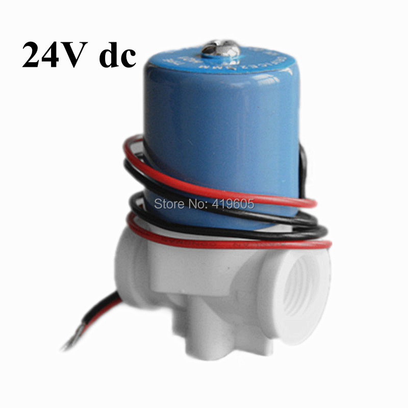 free shipping g1 4 24vdc water purifiers parts accessories solenoid valve drinking water valve. Black Bedroom Furniture Sets. Home Design Ideas