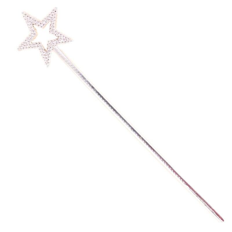 Peradix Fairy Stick Silver Fairy Princess Angle Wand Dress Costume Gifts For Kids
