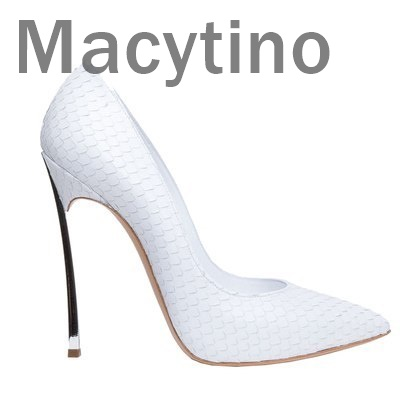 Macytino Sexy Patent Leather High Heels White Pointed toe Pumps Shoes Party Shoes Women Stiletto High heel Pump 12cm fashion black patent leather high heels women sexy pointy stiletto high heel pumps trendy rivets slip on high heel party shoes