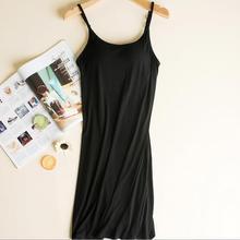 Female nightgowns lingerie sleepwear nightwear women summer dress sleeveless model cotton shirt women's night vetement femme