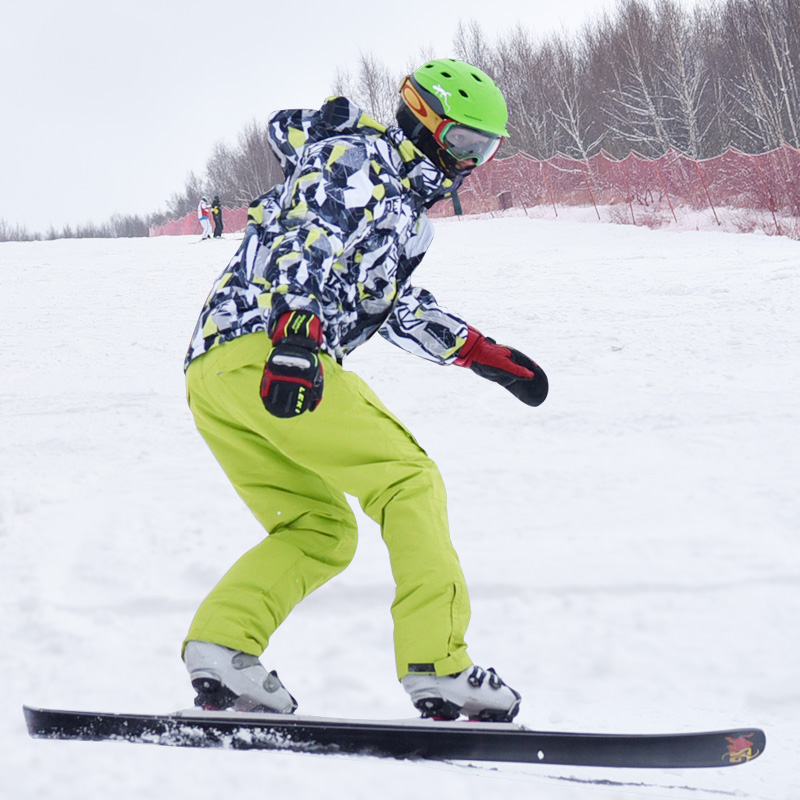 -30 Degrees Marsnow Brand Climbing Men Ski Suit Sets Windproof Waterproof Winter Ski Jacket+Pants Warm Breathable Men Jackets