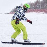 30 Degrees Marsnow Brand Climbing Men Ski Suit Sets Windproof Waterproof Winter Ski Jacket+Pants Warm Breathable Men Jackets