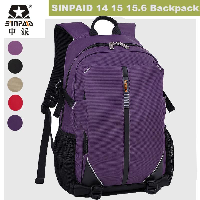 ФОТО Korean Fashion Laptop Backpack 14 15.6 inch Laptop Bag Students bookbag Travel Rucksack Notebook Bags men women Mochila Feminina