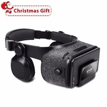 ETVR Z5 3D Gözlük Sanal Gerçeklik Kask 120 FOV Google karton Kulaklık Stereo Kutusu ile Gözlük 3D VR 4.7-6.2 Için smartphone