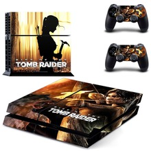 Game Rise of Tomb Raider PS4 Skin Sticker Decal Vinyl for Sony Playstation 4 Console and 2 Controllers PS4 Skin Sticker цена и фото