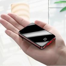 Mini batería portátil para iPhone X, Samsung, y Huawei xiaomi, 10000mah