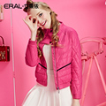ERAL Women's Winter 2016 Slim Thickening Down Coat Stand Collar Short Down Jacket ERAL12051-EDAD