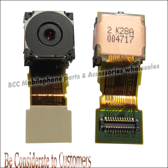 For SONY LT15  X12 LT18i LT15i Back Rear Camera Module Lens Flex Cable Replacement 100% Original  Best Quality free shipping