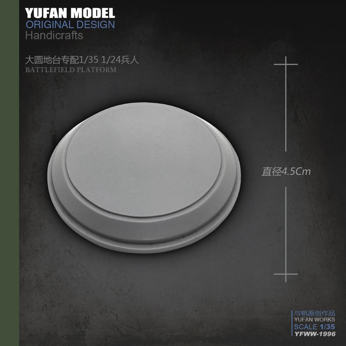 Yufan Model  Resin Platform Of 4.5cm Resin Soldier Accessories  YFWW-1997