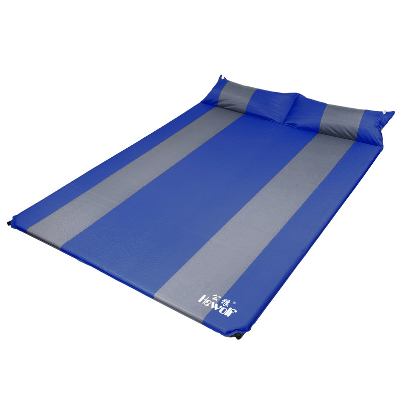 Free ship Beach inflatable mattress mat nature hike camping mats for two people air bed Picnic sleeping pad sand free mats EC05 inflatable mattress beach mat automatic air mattress camping mat air bed with pillow sleeping pad 193 65