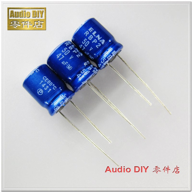 20pcs 35V 33uF 35V SANYO 6x7mm Electrolytic Capacitor Green Gold