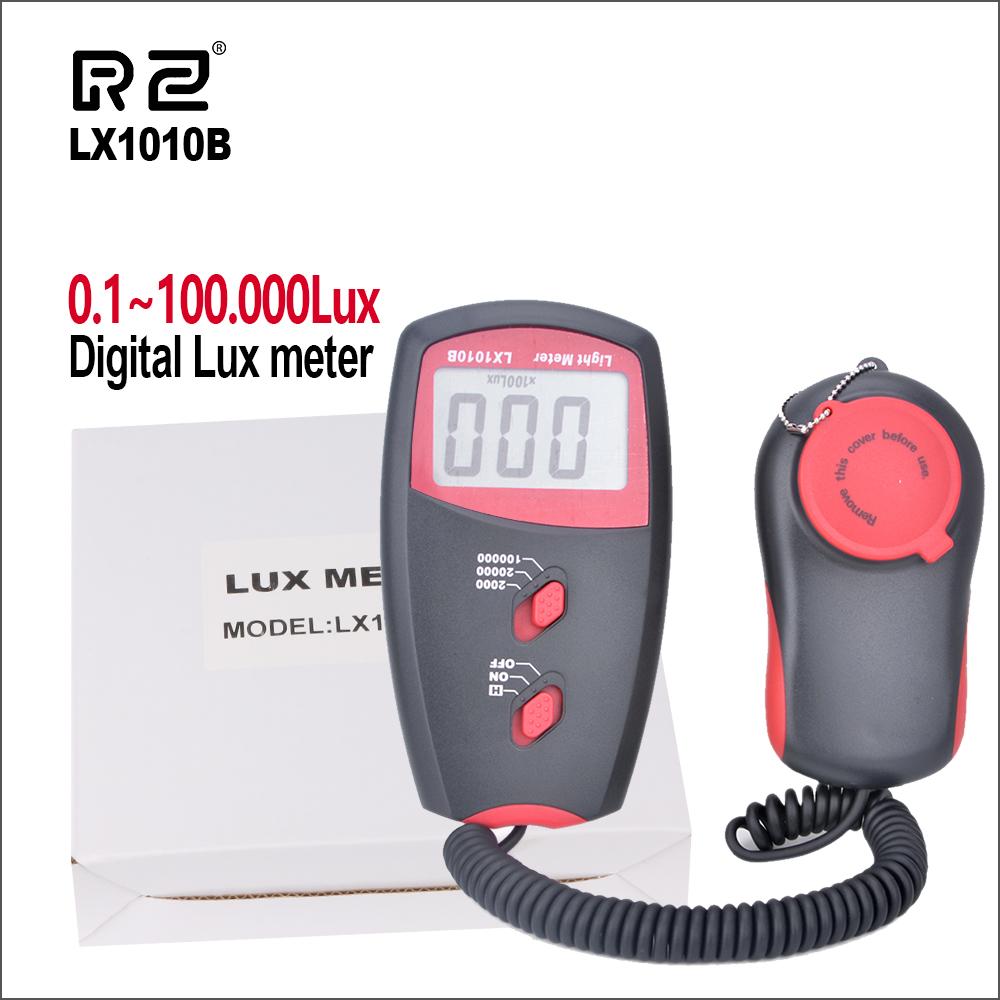 Light Meter Handheld Digital lux Meter LX1010BS Light Measurement Range:1~100,000Lux