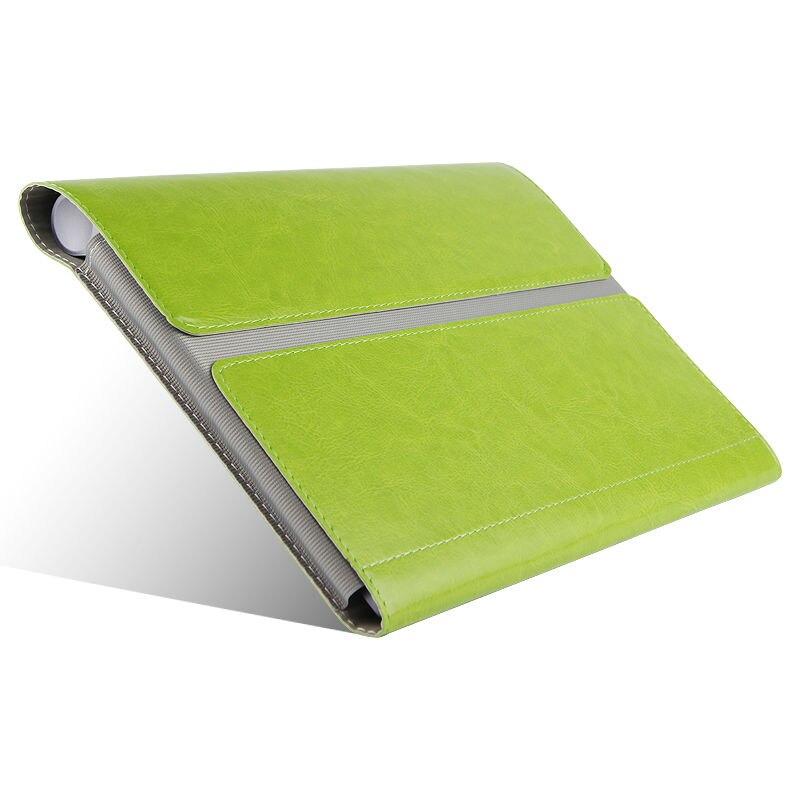 Lenovo Yoga B6000 Için Koruyucu Akıllı kapak Deri Tablet Için - Tablet Aksesuarları - Fotoğraf 4